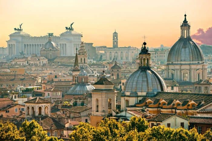 Rome to Venice by train