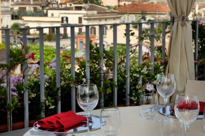 Private dining in Rome