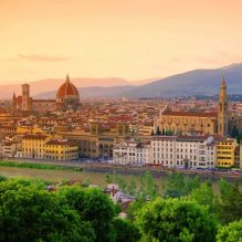 Welcome to Florence: Evening city stroll and Gelato